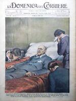 La Domenica del Corriere 13 Marzo 1938 Morte Gabriele d'Annunzio Littoriali Sci