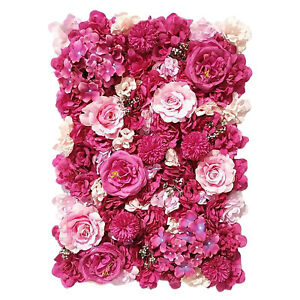 Flower Panels Privacy Hedge for Wedding Party Backdrop Venue Decoration