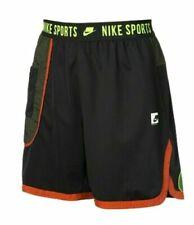 Nike NSW Sportswear Sport Clash Shorts NEW BV3249-010 Black Red Green Sz Large