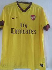 Arsenal 2010-2011 Away Football Shirt Size Large Adult Gunners /40680
