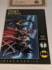 Spawn Batman Signed by Frank Miller 644/10000