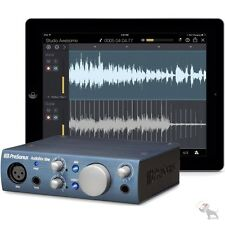 Presonus AudioBox iOne i Pad USB Audio Recording Interface + Studio One Artist 3