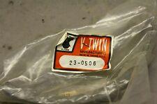 41848-64 Harley Front Drum Brake Shoe Linings