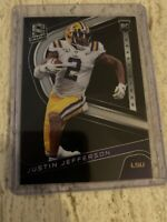 Justin Jefferson 2020 Panini Chronicles Draft Picks Spectra RC #9