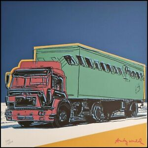 ANDY WARHOL * Truck * lithograph * limited # xx/2400 CMOA signed