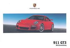 Porsche 997 GT3 Betriebsanleitung, Bedienungsanleitung, Mj. 2010