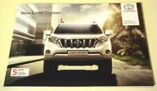 Toyota Land Cruiser Brochures Car Sales Brochures