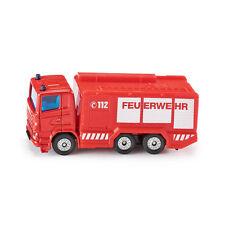 "Siku 1034 Scania ""Feuerwehr"" Tanklöschfahrzeug rot Modellauto (Blister) NEU! °"