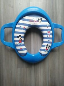 Mickey Mouse Padded Potty Training Seat