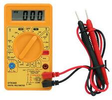 Multimètre digital voltmètre ampèremètre ohmmètre testeur électrique numérique
