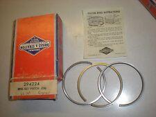 "Briggs & Stratton 294224 .010"" Piston Ring Set for 60100 Series Engines - Nos"