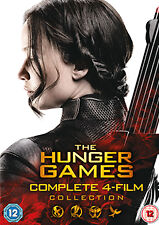 DVD:THE HUNGER GAMES COMPLETE COLLECTION - NEW Region 2 UK