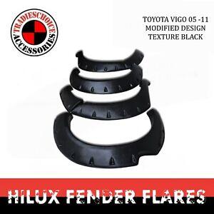 Fender Flares for Toyota Hilux N70 2005-11 SR SR5 Monster, Front Wheels ABS