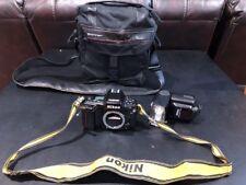 Vintage  RARE Nikon N90 35mm Camera Body Data Back W/speedlight SB-25/Tamrac Bag
