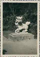 Indochine, Saigon. Le jardin, 1950 Vintage silver print Tirage argentique  6