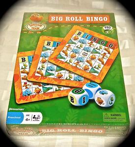 Dinosaurier Zug Groß Rolle Bingo Spiel Pbs Kinder Neu Ovp 2010 Jim Henson Toy