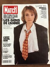 PARIS MATCH 20 DÉCEMBRE 1990 PATRICIA KAAS BRUEL AUTEUIL CARPENTIER DENEUVE