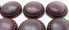 12 Bakelite Buttons- 2.2cm - on Original Display Card Made in England