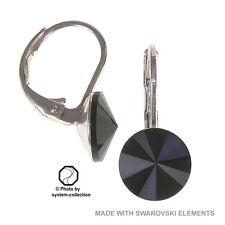 Ohrringe mit Swarovski Elements, Farbe: Schwarz