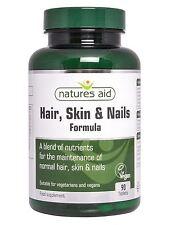 Hair Skin and Nails Formula 90 Tablets Natures Aid