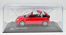 OPEL TIGRA TwinTop Year 2004 Red Scale 1:43 Von Minichamps