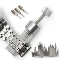 Metal Adjustable Watch Band Strap Bracelet Link Pin Remover Repair Tool Kit-Sets