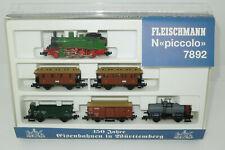 Fleischmann Spur N 7892 Zugset 150 Jahre Eisenbahnen in Württemberg (Lo)