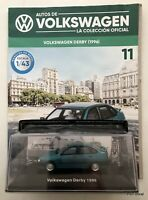 VW Derby / Polo (1996) Diecast 1:43 VW Collection Arg + Magazine Discontinued