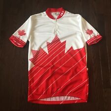 Vintage Louis Garneau Canada Cycling Jersey Mens Size M