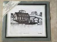Marc L Little Maritime Memories Signed Numbered Matted Limited Edition Print