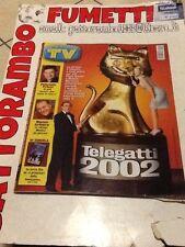 Tv Sorrisi e Canzoni N.19 Anno 2002 Telegatti 2002  Mondadori Ottimo