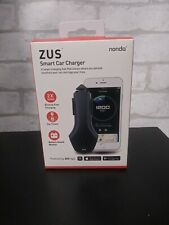 Nonda Zus Smart Car Charger Dual Usb Location Finder Apple Android Compatible