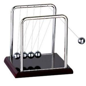 Newton's Cradle Steel Balance Ball Physics Science Pendulum Educational Desk Toy