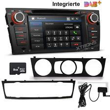 """eingebaut DAB+ 7"""" Autoradio CD DVD GPS SD USB MP3 Bluetooth für BMW E90 E91 E92"""