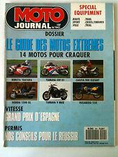N°941 MOTO JOURNAL; Dossier des Motos de l'extremes/ GP d'Espagne/ Equipement