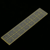 Rectangle Shaped Acrylic Quilting Templates Patchwork Sewing Ruler Tool