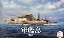 1:3000 Scale Gunkanjima Hashima Island Scene Model Kit No.NWC-99 #p
