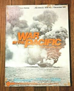 War In The Pacific SPI Circa 1978 (PARTIALLY PUNCHED & COMPLETE) (G5010)