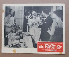 THE FAST SET MOVIE POSTER LOBBY CARD (B) 1957 ORIGINAL 11x14 AGNES LAURENT