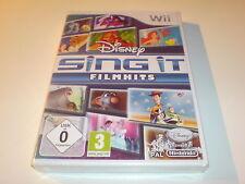 Wii Wii U Spiel Disney Sing It Film Hits Neu ungeöffnet versiegelt