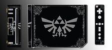 Legend of Zelda Grey Black Special Edition Game Decal SKIN for Nintendo Wii