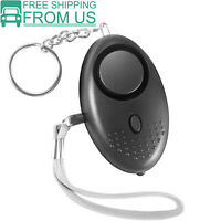 Safe Sound Personal Alarm Keychain Loud Alert LED Light 140db Self-Defense Siren