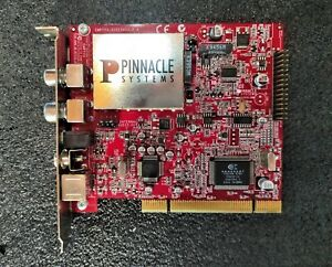 Pinnacle Systems EMPTYV-51015403-2.4 PCI TV Card DVB-T Radio S-Video Composite