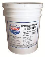 Lucas Oil Fuel System Additive Lucas Fuel Treatment 5 gallons Each
