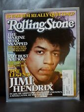 the legend of Jimi Hendrix Rolling Stone Magazine  Issue # 980 August 11, 2005