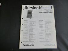 Original Service Manual Panasonic 3N80D-D 3N80E-E CHASSIS