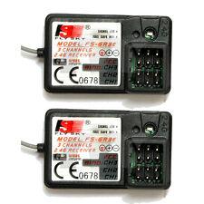 2 PCS FlySky FS-GR3E Receiver 3CH Failsafe for FLYSKY GT2B GT3B GT3C Transmitter