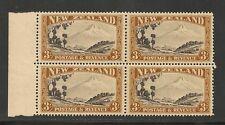 New Zealand #216a (SG #590b) VF MNH - 1941 3sh Mount Egmont