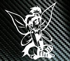 Tinkerbell Fairy Punk Car Girl Decal Vinyl Sticker