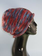 Stampato instructions-chunky Self striping ROLL Orlo Slouch Cappello knitting pattern